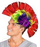Fun Central Multicolor LED Light Up Mohawk Wig Headband for Women & Men