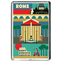 C086 ROME FRIDGE MAGNET ITALY VINTAGE TRAVEL PHOTO REFRIGERATOR MAGNET