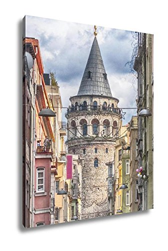 Ashley Canvas Istanbul Galata Tower, Wall Art Home Decor, Ready to Hang, Color, 20x16, AG5573320 by Ashley Canvas