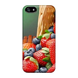 LisCFrazi Snap On Hard Case Cover Berries Protector For Iphone 5/5s