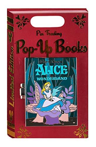 WDW Trading Pin - Pop-Up Books - Alice in Wonderland