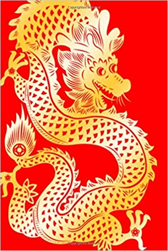 Dragon Red Gold Chinese Zodiac Journal: (Notebook, Diary