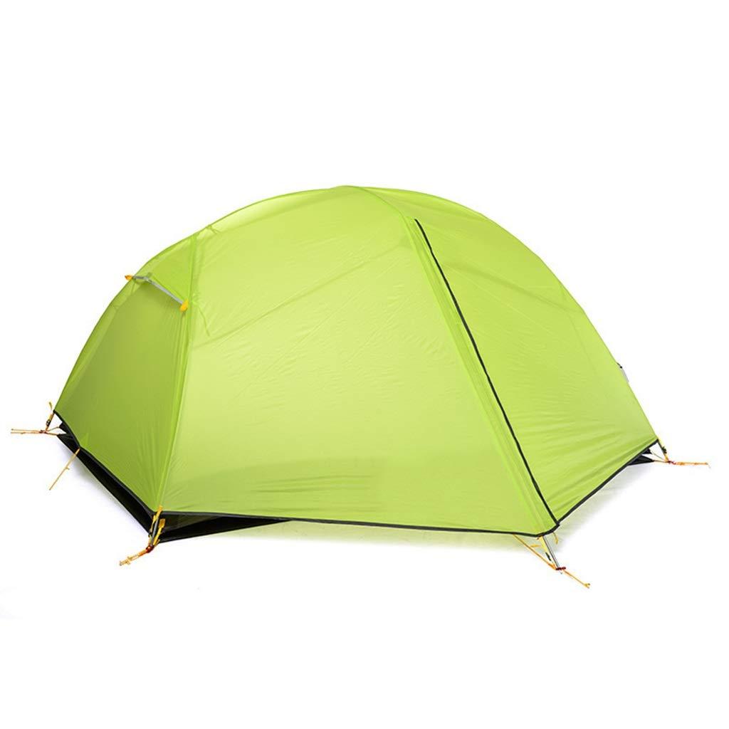 YAMI Zelt Im Freien Für Wasserdichte Schnell Zu Öffnende Zelte 2 Personen Einfach Einzurichten Wasserdicht Und Anti-UV-Zelt Grün