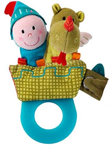 Lillputiens Walter Teething Rattle (Walter The Puppet)