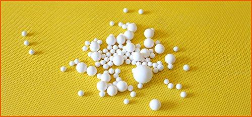 1mm 99% Alumina Grinding ball aluminum oxide milling balls Al2O3 sanding balls (1000g) by YJINGRUI