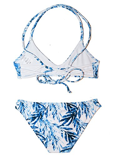 Chance Loves Tropical Sapphire Bikini for Tween and Teen Girls by Chance Loves (Image #1)