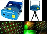 SHOPEE Mini Laser Projector Stage Lighting Sound Activated Laser Light for Party and DJ