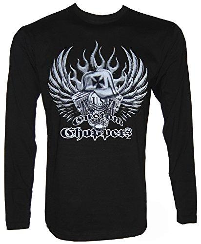 Custom Choppers Langarm T-Shirt