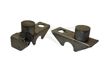 Oxidado de la bobina del eje delantero off-road primavera y soportes de montaje de choque - Stock estilo (XJ, TJ, ZJ): Amazon.es: Coche y moto