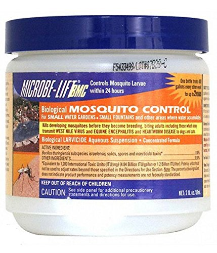 Ecological Labs Microbe Lift Bio Mosquito Control for Small Water Garden - 59 ml