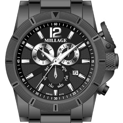 Millage Esquire Collection - IPBLK by Millage