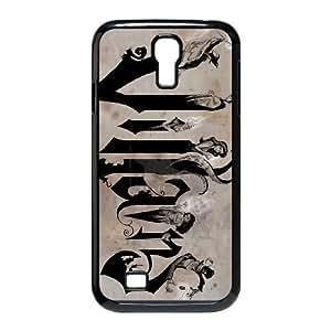 Samsung Galaxy S4 I9500 Phone Case Black disney villains ESTY7911129