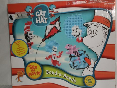 The Cat in the Hat, Bond-a-beads, Window Art Kit, Dr Seuss