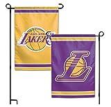 WinCraft NBA Los Angeles LA Lakers 12.5'' x 18'' Inch 2-Sided Garden Flag Logo