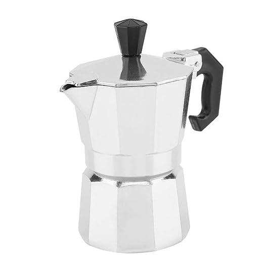 EIBDC de Aluminio Tipo Italiano Maceta Moka cafetera Espresso ...