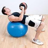 Anti-Burst Pro Exercise Ball 85cm Orange (EA)