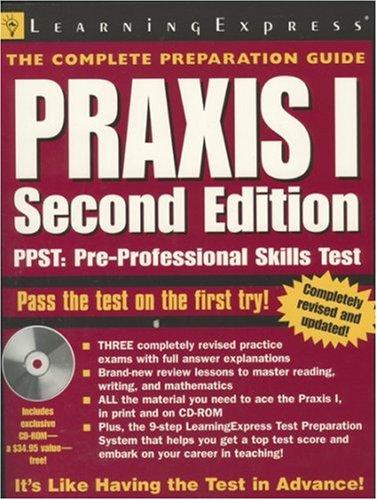 Praxis I (Praxis I W/CD)