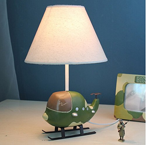 Kinder-Tischlampe Schlafzimmer Nachttischlampe warmes Licht Feeding Nacht M kreative Kinderzimmer Schreibtischlampe Cartoon Personalisierte Geschenke für Jungen ( stil : A )