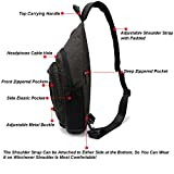 Nicgid Sling Bag Chest Shoulder Backpack Crossbody