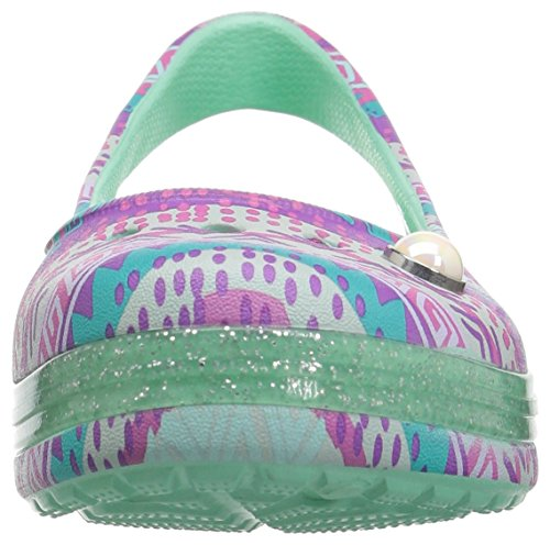 Pictures of Crocs Kids' Genna II Graphic Sparkle Sling- 6