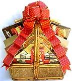 A Golden Christmas | Elegant Gourmet Holiday Gift Basket