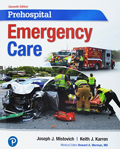Book Prehospital Emergency Care PLUS MyLab BRADY with Pearson eText -- Access Card Package (11th Edition)<br />P.D.F