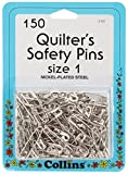PRYM-DRITZ Corp. C131 Quilt Safety Pin Size 1 150PC, Multicolor