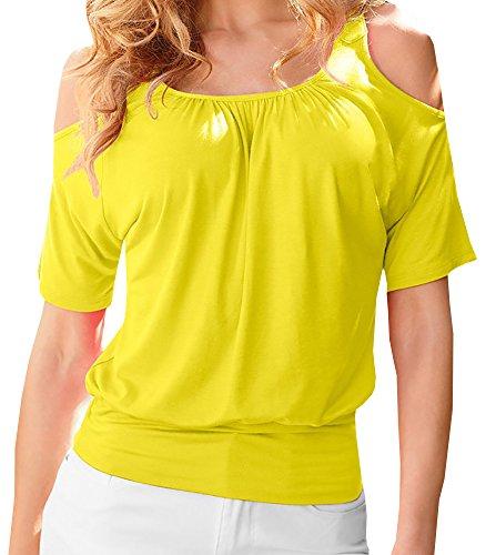 Lovaru Womens Casual Shoulder Sleeve