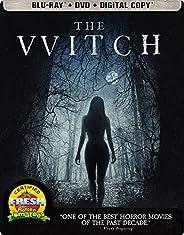 The Witch [Blu-ray + DVD + Digital HD] (Libro de Estado)