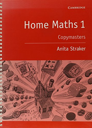 Home Maths Pupil's book 1: photocopiable masters (Vol (Photocopiable Masters)