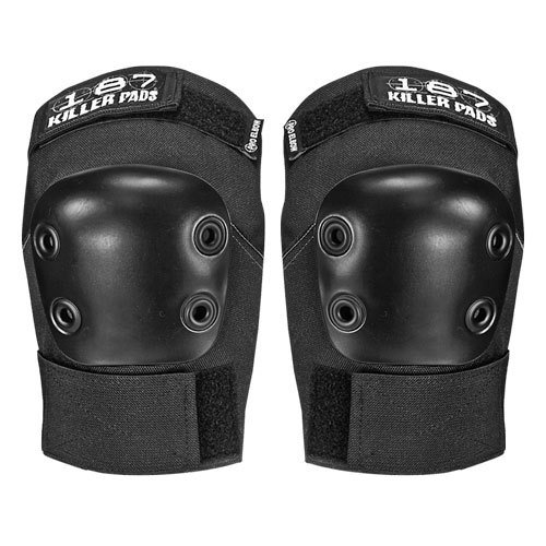 187 Killer Pads Pro Elbow Pads - Black - Medium - 187 Killer Pads