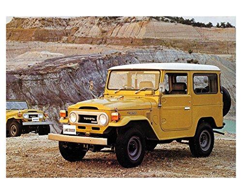 1977 Toyota Land Cruiser Photo Poster