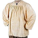 Mens Beige Renaissance Shirt (Size: Standard 42-46)
