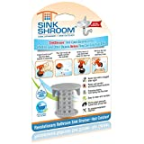 #10: SinkShroom The Revolutionary Sink Drain Protector Hair Catcher/Strainer/Snare, Gray