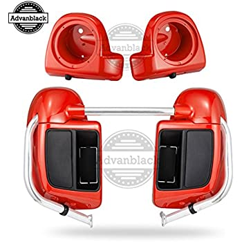 ... Fairings 6.5 inch Speaker Pods For Harley Davidson Touring Road Glide Street Glide Road King Electra Glide Ultra Classic 2014 2015 2016 2017 2018 2019