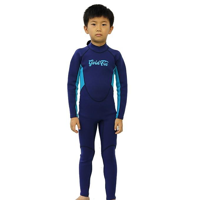 Amazon.com: Traje de baño térmico corto para niños, 0.118 in ...