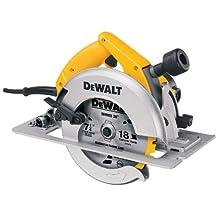 DEWALT DW364 7-1/4-Inch Circular Saw with Electric Brake and Rear Pivot Depth of Cut Adjustment