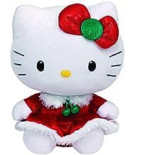 Ty - Ty41014 - Peluche - Hello Kitty Noel - Beanie Babies - 20 Cm