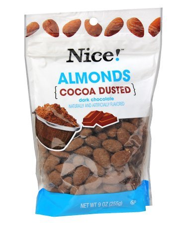 Cocoa Dusted Almonds - Nice! Cocoa Dusted Almonds 9.0 oz.