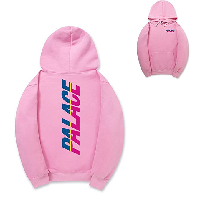 1009709b Co-HoodI New Velvet Hoodie Sweatshirt Streetwear Pink: Amazon.ca ...
