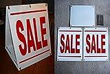 1 Pcs Splendid Popular Sale Sign Retail Sold Plastic Coroplast Store Declare Size 18