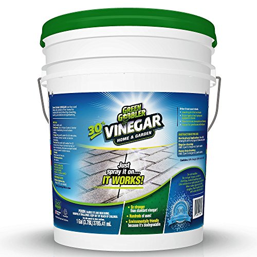 Green Gobbler Ultimate Vinegar Home & Garden - 30% Vinegar Concentrate, Hundreds of Uses! 5 Gallon ()