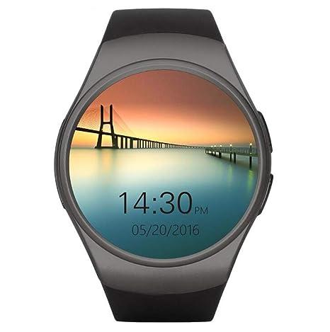 STEAM PANDA Relojes Inteligentes para Hombres con Monitor de Ritmo cardíaco y presión Arterial Pantalla Redonda