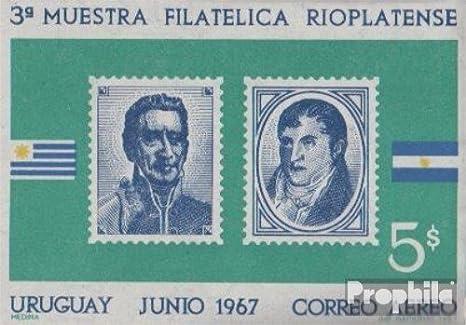 Prophila Collection Uruguay Bloque 10 (Completa.edición.) 1967 filatelia exposicion (Sellos para los coleccionistas) Sello en Sello: Amazon.es: Juguetes y juegos