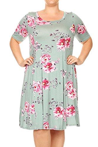 Ruffled Surplice Dress - 9