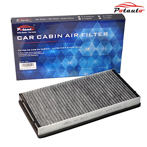 POTAUTO MAP 3021C Heavy Activated Carbon Car Cabin Air Filter Replacement compatible with Porsche 911, Boxster, Cayman