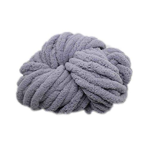 Xuanhemen Soft Plush Elastic Anti-Static Thick Woolen Yarn Line String Knit Crochet Sweater Hat Muffler Gloves Blanket Winter Daily Supplies