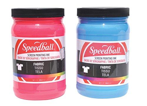 Speedball Fabric Screen Printing Ink, Black (T-shirt Printing Ink)