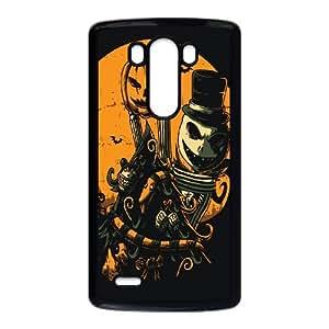 LG G3 Cell Phone Case Black_JACKS CHRISTMAS TREE Nerla
