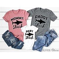 Baby Shark Family Shirts Baby Shark Birthday Shark Mommy Shark Daddy Shark Grandma Shark Sister Shark Brother Shark Shirts